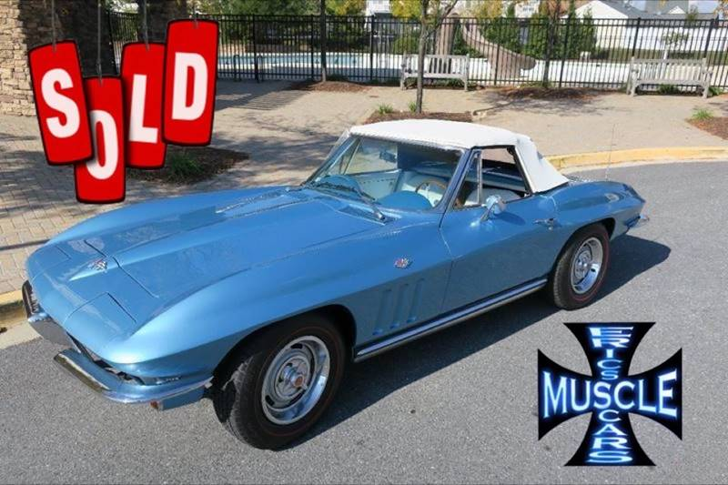 1965 Chevrolet Corvette SOLD SOLD SOLD