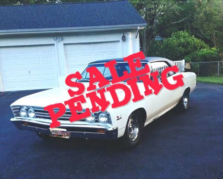 1967 Chevrolet Chevelle SOLD SOLD SOLD