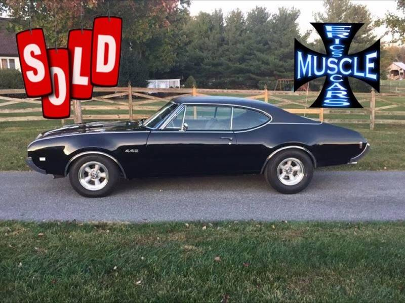 1968 Oldsmobile 442 SOLD SOLD SOLD