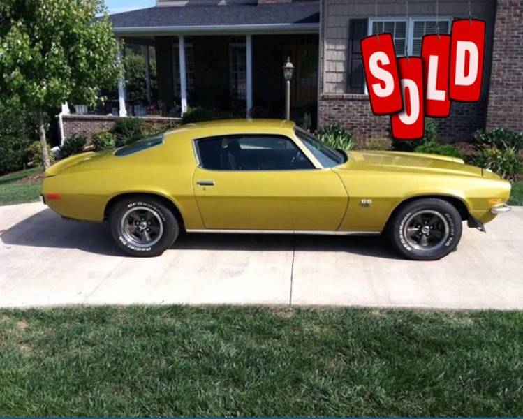 1971 Chevrolet Camaro SOLD SOLD SOLD