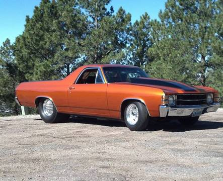 1971 Chevrolet El Camino for sale at The Best Muscle Cars in Clarksburg MD