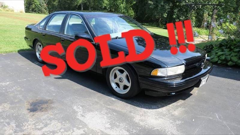 1996 Chevrolet Impala SOLD SOLD SOLD