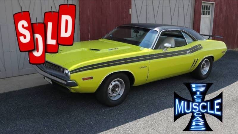 1971 Dodge Challenger SOLD SOLD SOLD