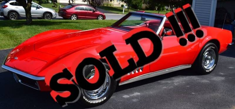 1969 Chevrolet Corvette SOLD SOLD SOLD