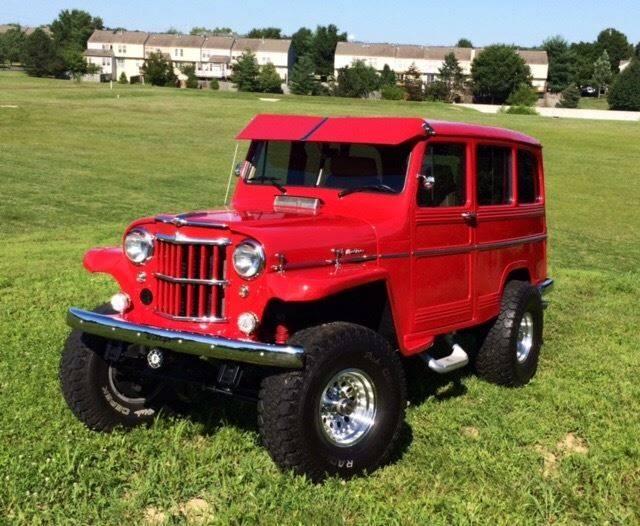 1960 Willys 4 X 4 Utility Wagon