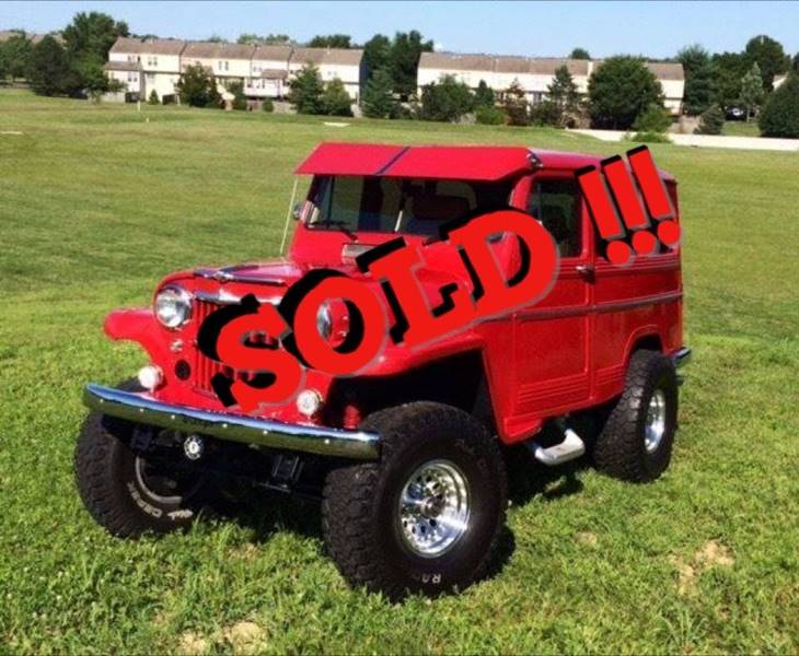 1960 Willys 4 X 4 Utility Wagon SOLD SOLD SOLD