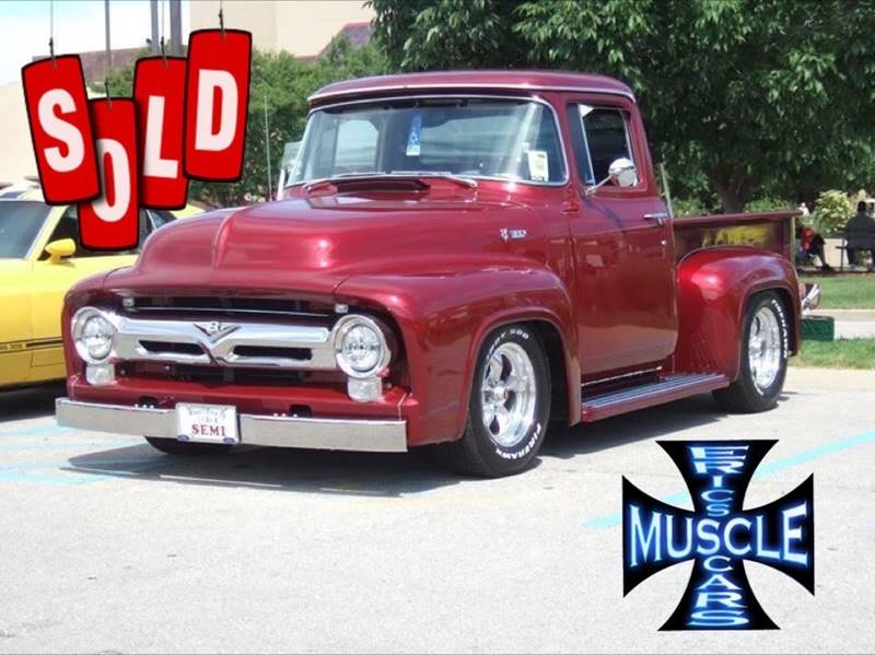 1956 Ford F-100 SOLD SOLD SOLD