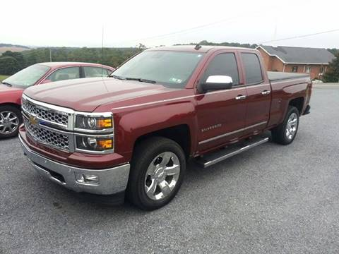 2014 Chevrolet Silverado 1500 for sale at The Best Muscle Cars in Clarksburg MD