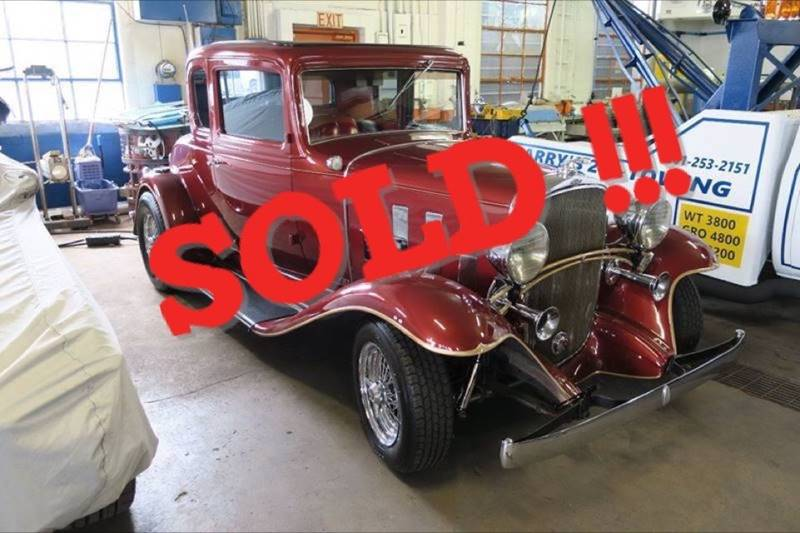 1932 Chevrolet Coupe SOLD SOLD SOLD