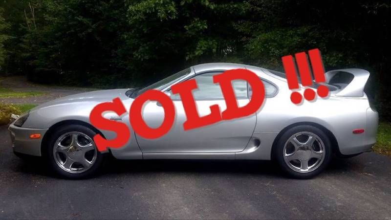 1997 Toyota Supra SOLD SOLD SOLD