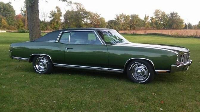 1972 Chevrolet Monte Carlo for sale at The Best Muscle Cars in Clarksburg MD