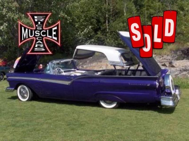 1957 Ford Skyliner SOLD SOLD SOLD
