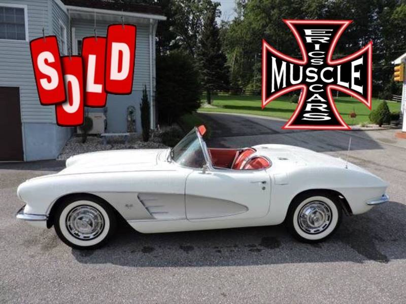 1961 Chevrolet Corvette SOLD SOLD SOLD