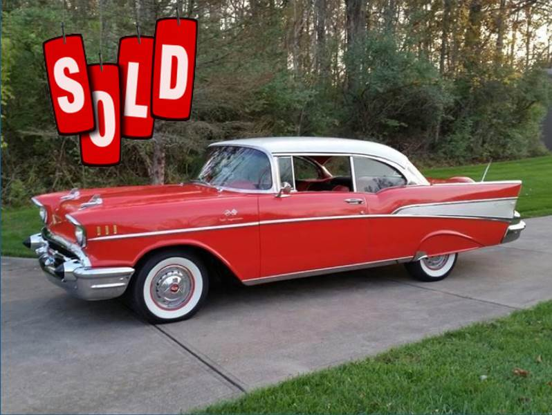 1957 Chevrolet Bel Air FI SOLD SOLD SOLD