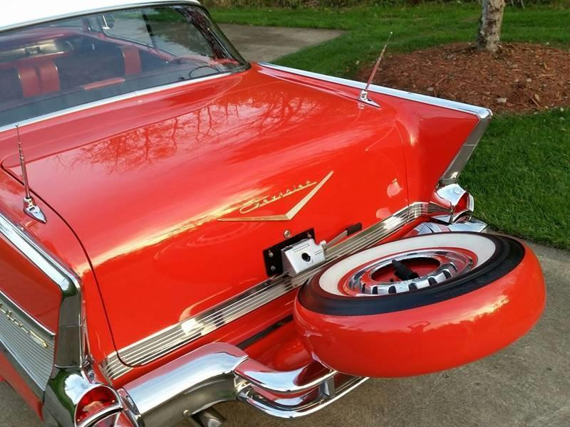 1957 Chevrolet Bel Air for sale at The Best Muscle Cars in Clarksburg MD
