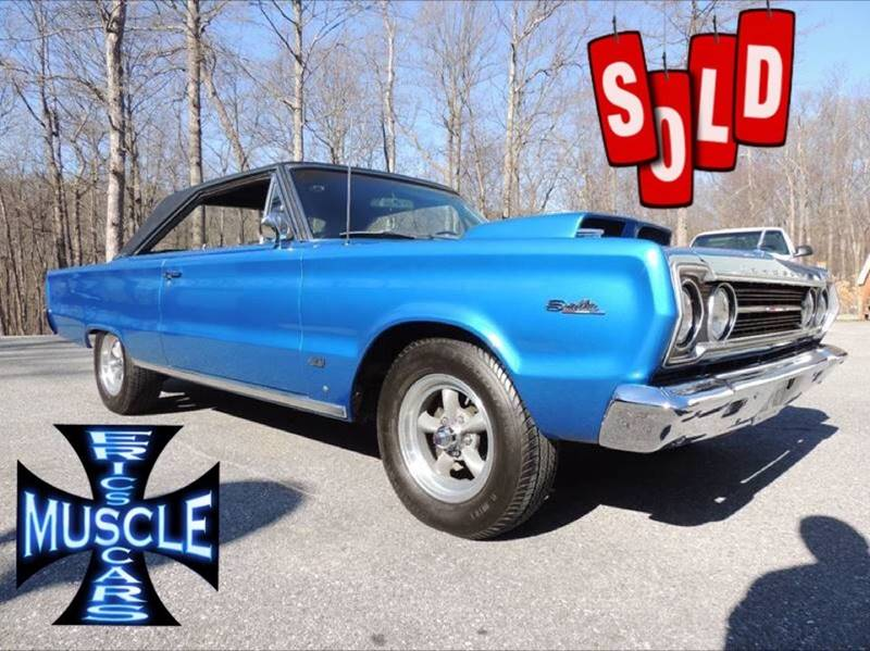 1967 Plymouth HEMI Satellite SOLD SOLD SOLD