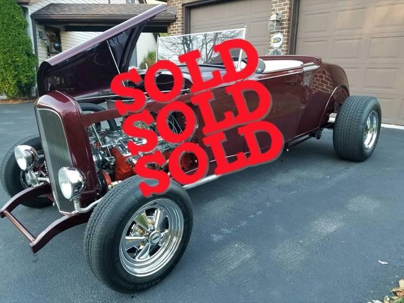 1932 Ford Hiboy Streetrod SOLD SOLD SOLD