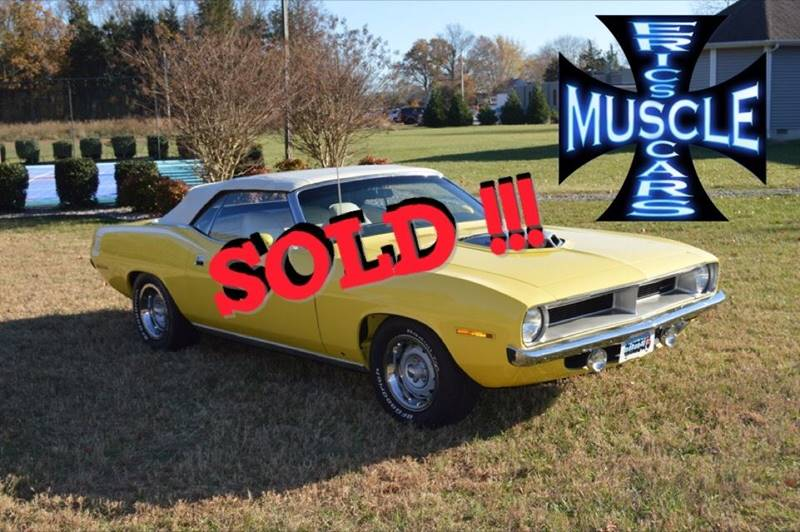 1970 Plymouth Barracuda SOLD SOLD SOLD
