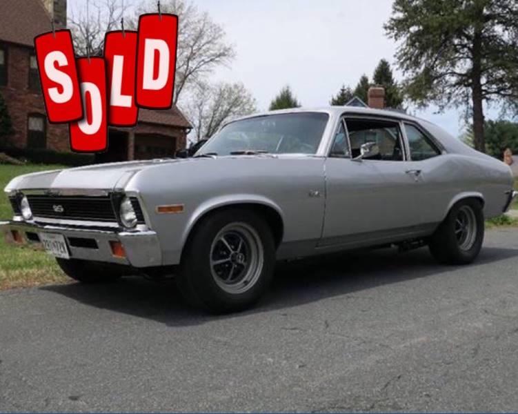 1972 Chevrolet Nova SOLD SOLD SOLD