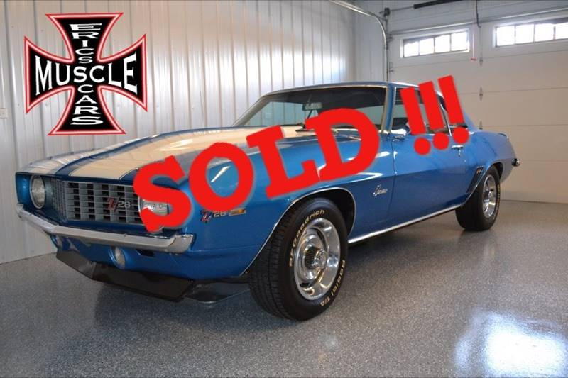 1969 Chevrolet Camaro SOLD SOLD SOLD