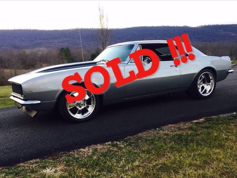 1967 Chevrolet Camaro SOLD SOLD SOLD