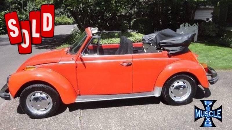 1974 Volkswagen Beetle Convertible SOLD SOLD SOLD
