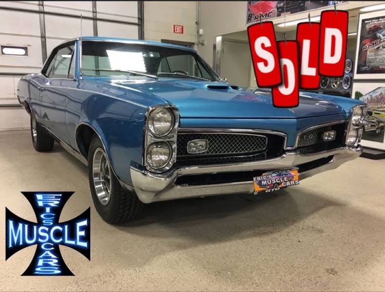 1967 Pontiac GTO SOLD SOLD SOLD