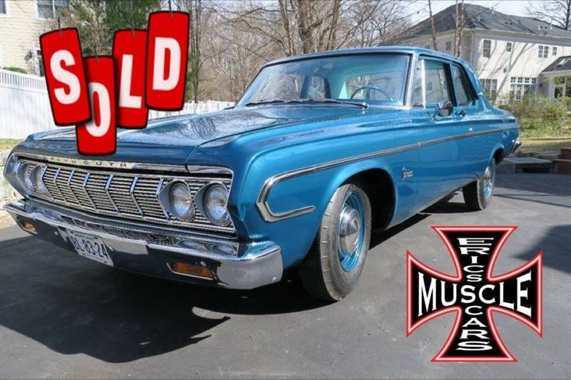1964 Plymouth Belvedere SOLD SOLD SOLD