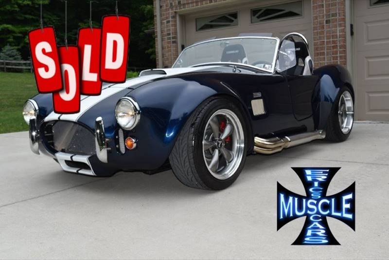 1965 Shelby Cobra SOLD SOLD SOLD