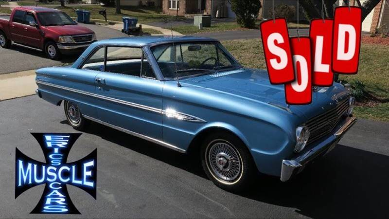 1963 Ford Falcon SOLD SOLD SOLD