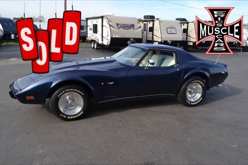 1977 Chevrolet Corvette SOLD SOLD SOLD