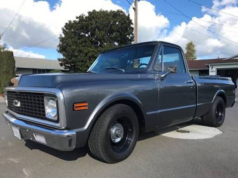 1972 Chevrolet C/K 10 Series for sale at The Best Muscle Cars in Clarksburg MD