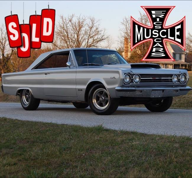 1967 Plymouth Satellite HEMI SOLD SOLD SOLD