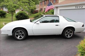 1984 Chevrolet Camaro for sale at The Best Muscle Cars in Clarksburg MD