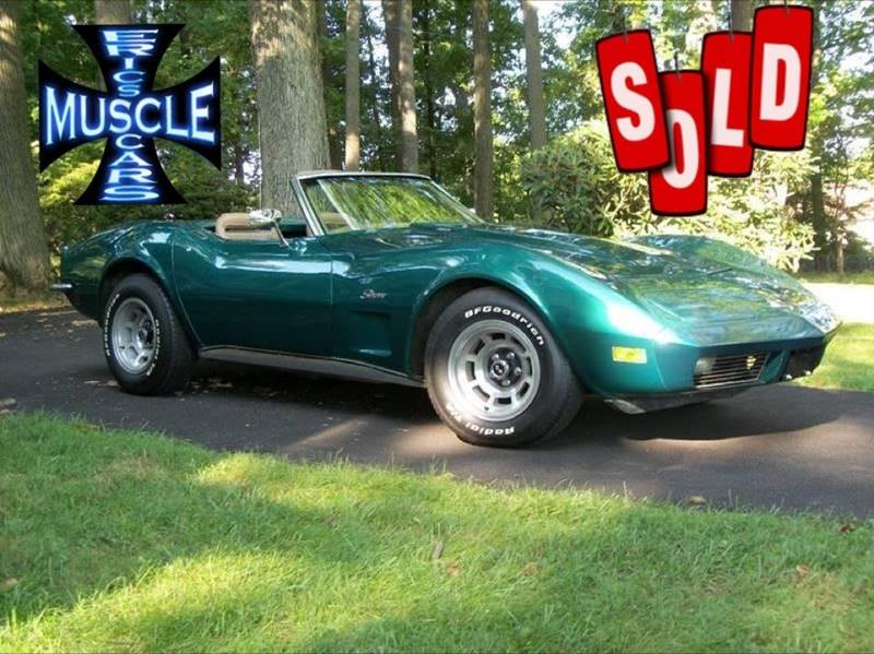 1973 Chevrolet Corvette SOLD SOLD SOLD
