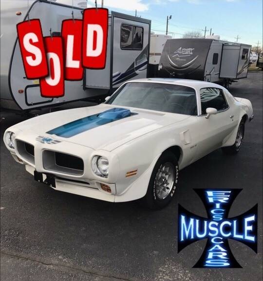 1972 Pontiac Trans Am SOLD SOLD SOLD