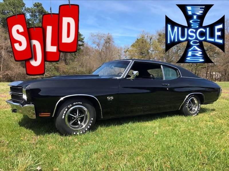 1970 Chevrolet Chevelle SS SOLD SOLD SOLD