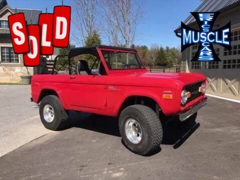 1971 Ford Bronco SOLD SOLD SOLD