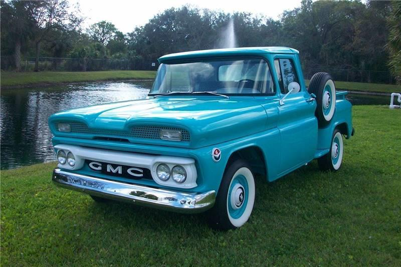 1960 GMC HALF TON PICKUP