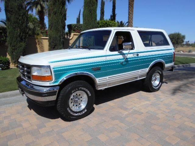 featured muscle cars for sale 1993 ford bronco - Old Muscle Cars For Sale