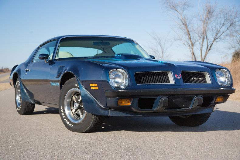 1974 Pontiac Trans Am SD for sale at The Best Muscle Cars in Clarksburg MD