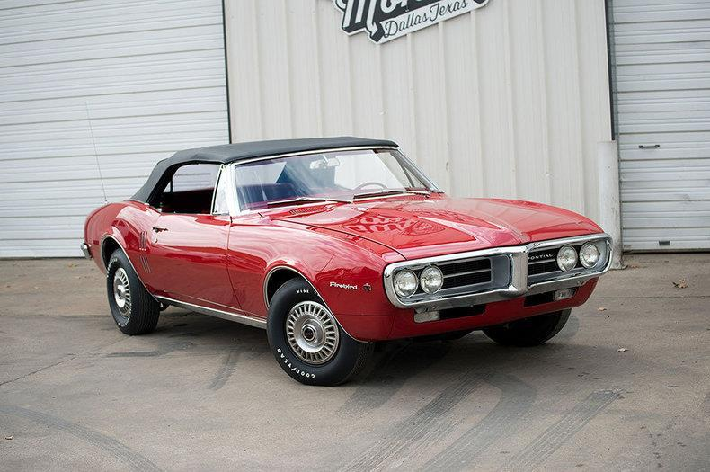 1967 Pontiac Firebird Conv. for sale at The Best Muscle Cars in Clarksburg MD