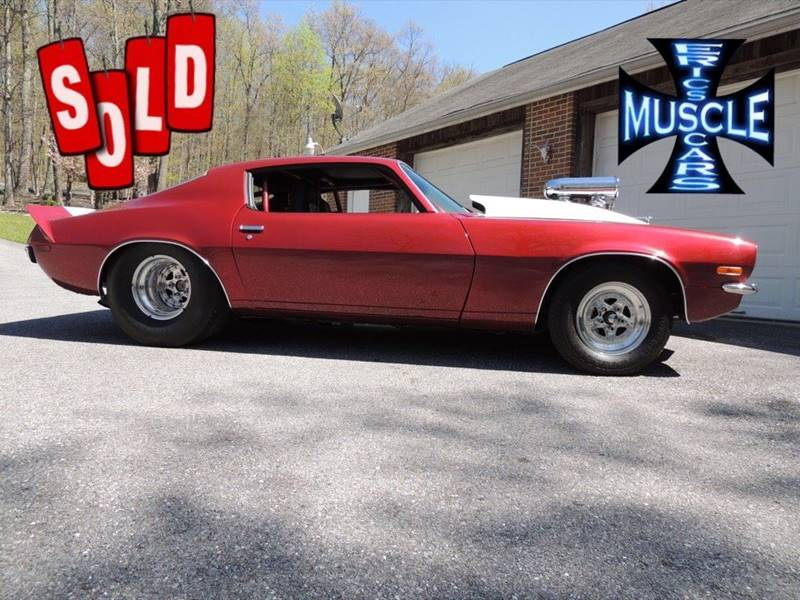 1973 Chevrolet Camaro SOLD SOLD SOLD