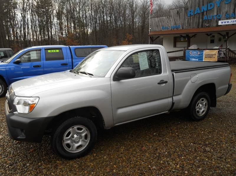 2012 Toyota Tacoma for sale at Randy's Auto Sales in Franklin PA