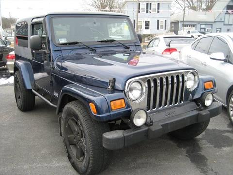 2005 Jeep Wrangler for sale in Westport, MA