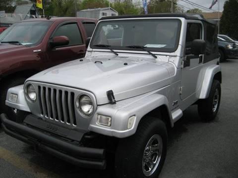 2003 Jeep Wrangler for sale in Westport, MA
