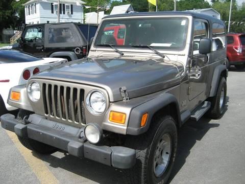 2005 Jeep Wrangler for sale in Westport, MA