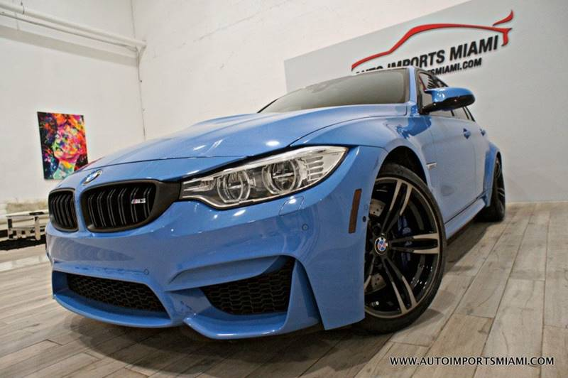 BMW M In Fort Lauderdale FL AUTO IMPORTS MIAMI - Bmw 2015 m3 for sale