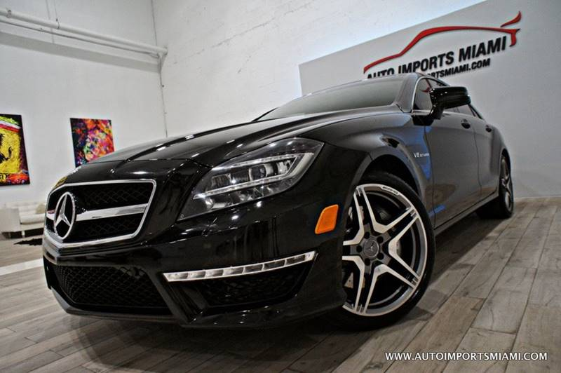 2013 Mercedes Benz CLS For Sale At AUTO IMPORTS MIAMI In Fort Lauderdale FL