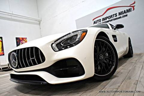 2018 Mercedes Benz AMG GT For Sale In Fort Lauderdale, FL